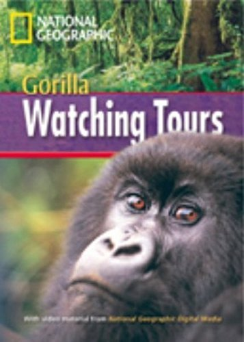 9781424010578: Gorilla Watching Tours + Book with Multi-ROM: Footprint Reading Library 1000