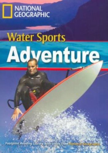 9781424010684: Water Sports Adventure + Book with Multi-ROM: Footprint Reading Library 1000