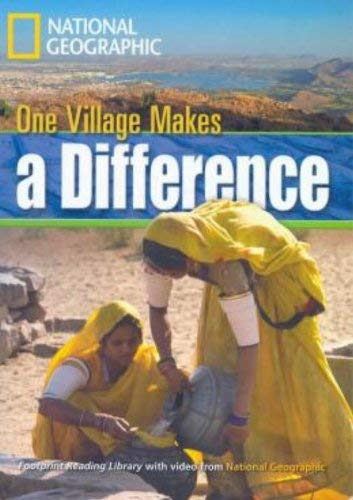 9781424010776: One Village Makes a Difference: Pt. 001 (Footprint Reading Library)