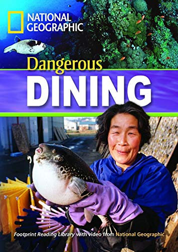 9781424010837: Dangerous Dining + Book with Multi-ROM: Footprint Reading Library 1300