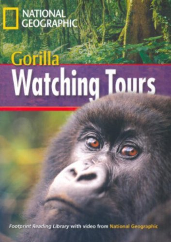 9781424011575: Gorilla Watching Tours + Book with Multi-ROM: Footprint Reading Library 1000