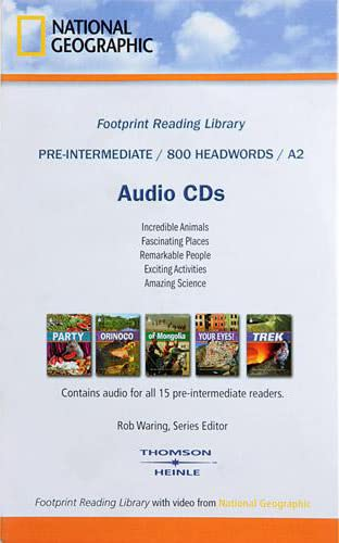 9781424012459: Footprint Reading Library 800
