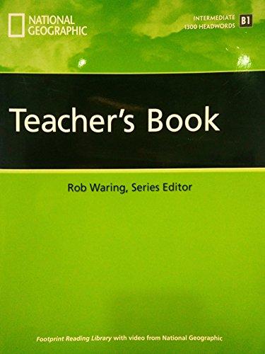9781424012794: Footprint Reading Library Level 1300: Teacher's Manual: Pt. 001