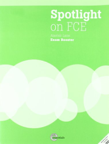 9781424016822: Spotlight on FCE exam booster. Workbook. Without answers. Per le Scuole superiori. Con DVD-ROM: Without Answer Key with Audio CD and DVD
