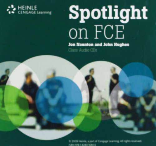 Spotlight on FCE: Audio CDs: Jon Naunton, John