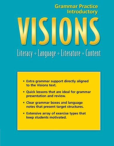 9781424017027: Visions Intro: Grammar Practice