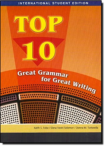 9781424017478: Top 10: Great Grammar for Great Writing