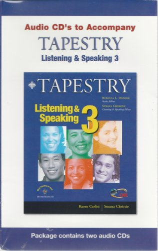 9781424018130: Tapestry Listening & Speaking 3, 2nd Edition
