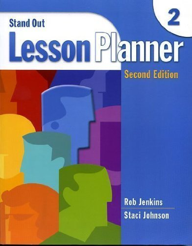 Stand Out Lesson Planner 2, 2nd Edition: Jenkins, Rob