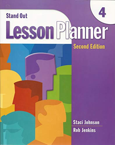 Stand Out 4 Lesson Planner (Includes Activity: Staci Johnson, Rob