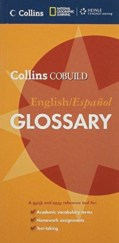 Collins COBUILD English/Espanol Glossary (Collins COBUILD Dictionaries: Collins COBUILD