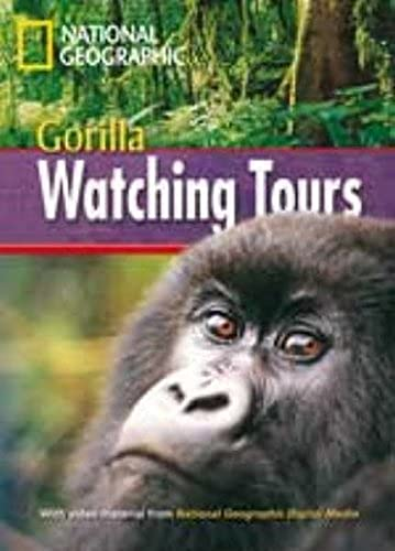 9781424021529: Gorilla Watching Tours + Book with Multi-ROM: Footprint Reading Library 1000 (Pt. 001)