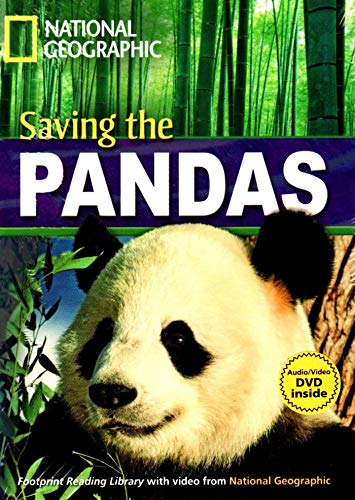 9781424021932: Saving the Pandas + Book with Multi-ROM: Footprint Reading Library 1600 (National Geographic Footprint Reading Library)