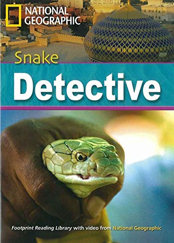 9781424022182: Snake detective. Footprint reading library. 2600 headwords. Level C1. Con DVD-ROM