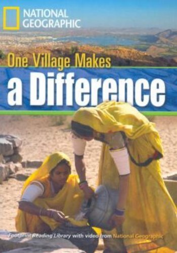 9781424022823: One Village Makes a Difference + Book with Multi-ROM: Footprint Reading Library 1300