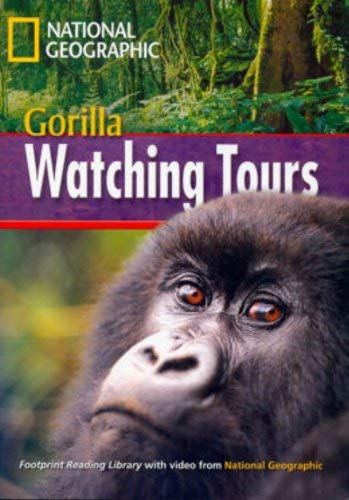 9781424023080: Gorilla Watching Tours + Book with Multi-ROM: Footprint Reading Library 1000