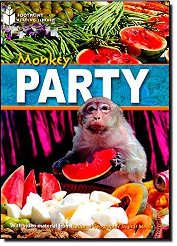 9781424023158: Monkey Party + Book with Multi-ROM: Footprint Reading Library 800