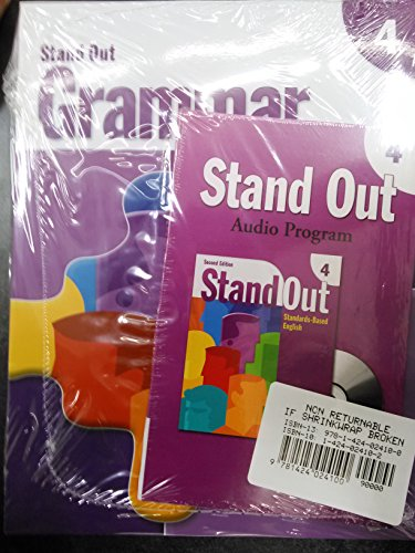 9781424024100: Stand Out 4 - With Grammar Challenge and Cd