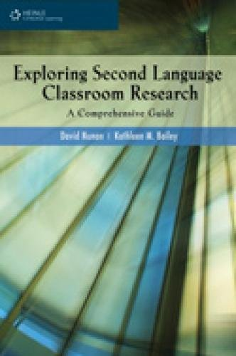 9781424027057: Exploring Second Language Classroom Research: A Comprehensive Guide