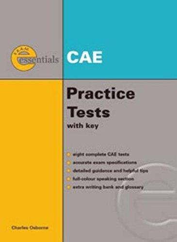9781424028276: Exam Essentials: CAE Practice Tests