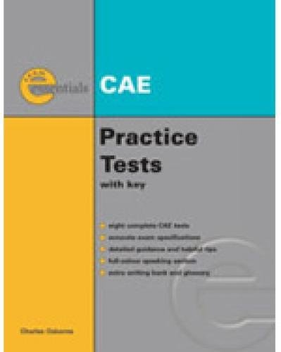 9781424028290: Essential Practice Tests: Cae Without Answer Key (Exam Essentials)