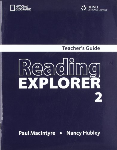 Reading Explorer 2 Teachers Book: Douglas, Nancy
