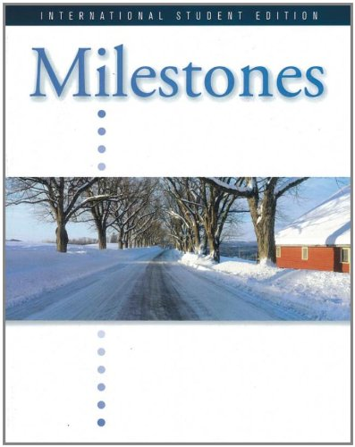 9781424032280: Milestones Intro