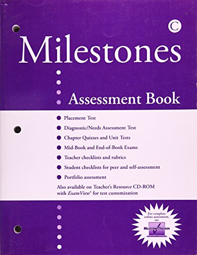 MILESTONES {BOOK C} { TN}