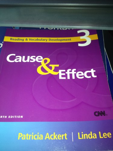 Cause & Effect: Patricia Ackert