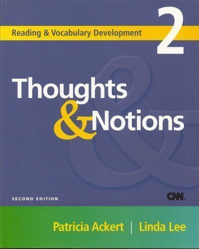 9781424035007: Thoughts & Notions (Reading & Vocabulary Development)