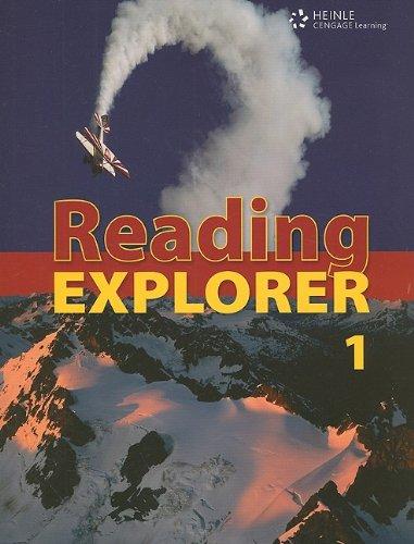 Reading Explorer 1: Explore Your World: Douglas, Nancy