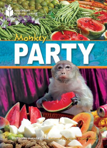 9781424043699: Monkey Party (Footprint Reading Library: Level 1)