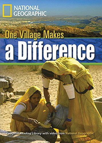 9781424044368: One Village Makes a Difference: Footprint Reading Library 3 (Footprint Reading Library: Level 3)
