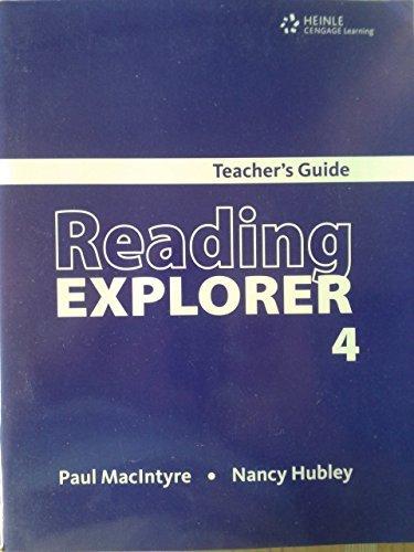 9781424045556: Teacher's Guide for Reading Explorer Level 4
