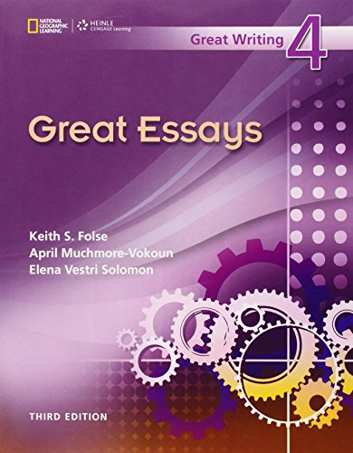 Great Essays (Great Writing 4): Folse, Keith S.