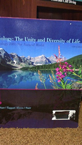 9781424054909: Biology: The Unity and Diversity of Life 12th Edition