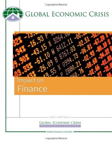 Custom Enrichment Module: Global Economic Watch: Impact on Finance: Center, Global Economics Crisis...