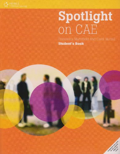 9781424060757: Spotlight on CAE. Student's book. Per le Scuole superiori
