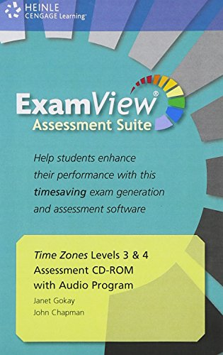 9781424061105: Time Zones Examview 1 4