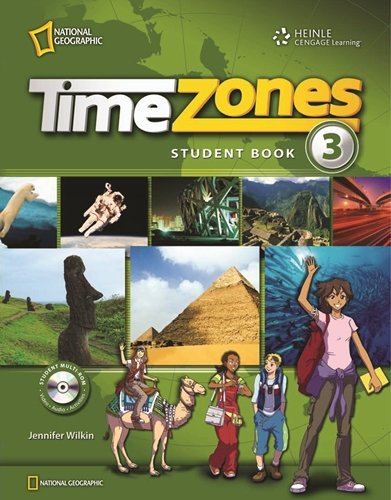 9781424061266: Ng Intl Time Zones 3 Teachers Edition