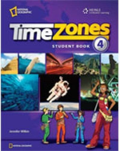 9781424061365: Time Zones 4: Student Book Combo Split B with MultiROM