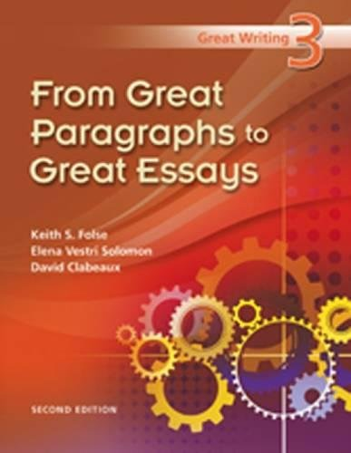 9781424062102: Great Writing 3: From Great Paragraphs to Great Essays
