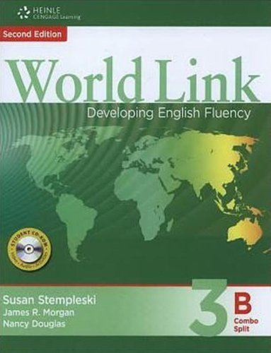 9781424066797: World Link 3: Combo Split B with Student CD-ROM