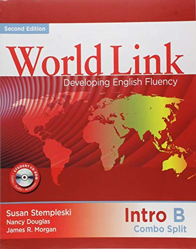 9781424066889: World Link Intro: Combo Split B with Student CD-ROM