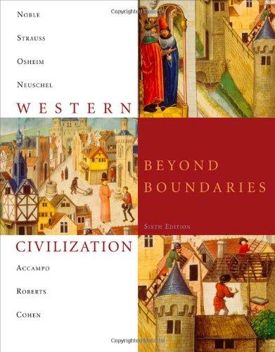 9781424067824: Western Civilization: Beyond Boundaries