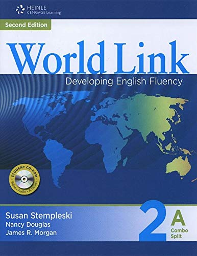 9781424068197: World Link 2 with Student CD-ROM: Developing English Fluency (Word Link)