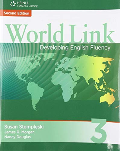 9781424068203: World Link 3 with Student CD-ROM: Developing English Fluency