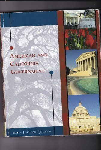 9781424068456: American and California Government