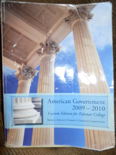 AMERICAN GOVERNMENT 2009-2010