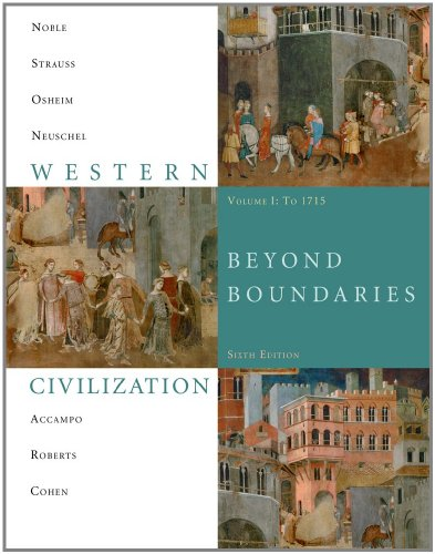 9781424069613: Western Civilization: Beyond Boundaries, Volume 1 to 1715